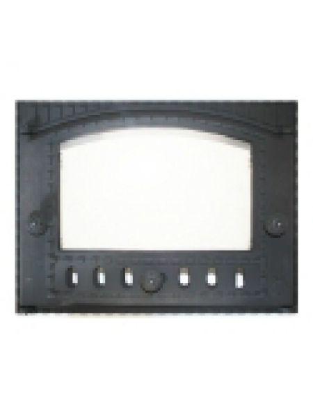 K202 Дверца топочная стекло 375х300мм 8.7кг