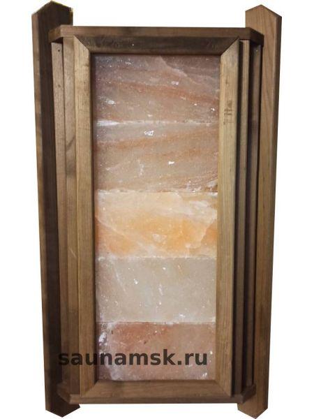Абажур из гималайской соли угловой термолипа (5 плитки)