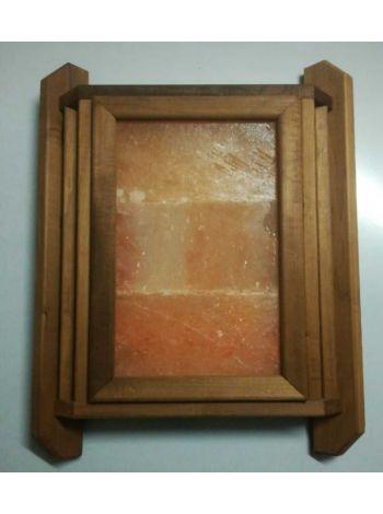 Абажур из гималайской соли угловой термолипа (3 плитки)