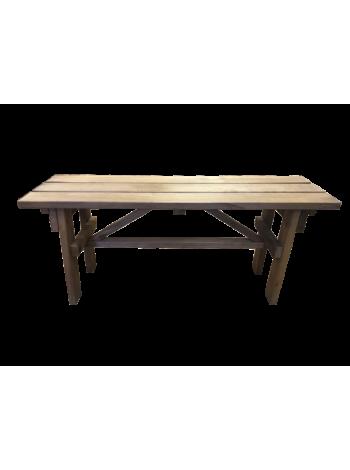 Скамейка для бани термолипа 0.3м х 1м