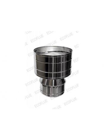 Дефлектор нержавейка диаметр 200х115