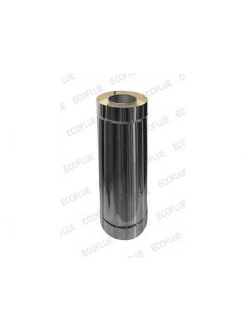 Сэндвич труба нержавейка 0.5мм диаметр 300х200 L=1м