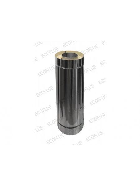 Сэндвич труба нержавейка 1мм диаметр 200х115 L=0,5м