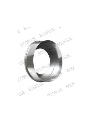 Заглушка нержавейка диаметр 230х150