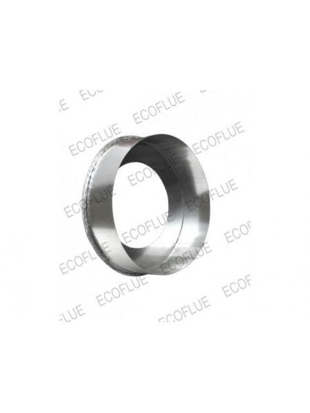 Заглушка нержавейка диаметр 200х115