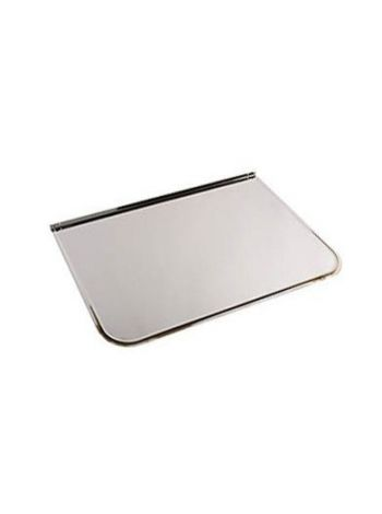 Лист притопочный зеркальная нержавейка 0,4х1,0м (большой)