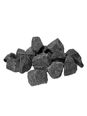 Габбро-диабаз камень колотый коробка 20кг