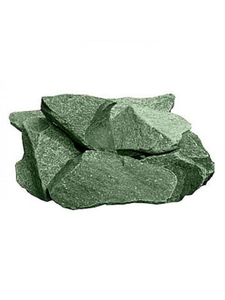 Жадеит камень колотый ведро 20кг (средний)