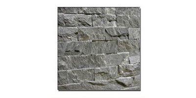 Рваный камень талькохлорит  200х50х20 мм упаковка 0,5м2 (отгружается упаковками)