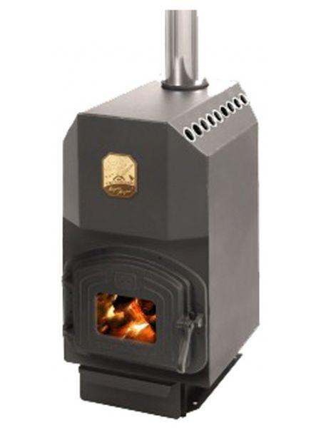 Отопительная печь Теплодар ТОП 140 (с чугунной дверцей)