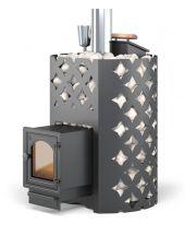 Чугунная печь для бани ЭТНА 18 (ДТ-4С) Закрытая каменка