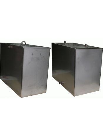 Бак для бани 110 литров под контур