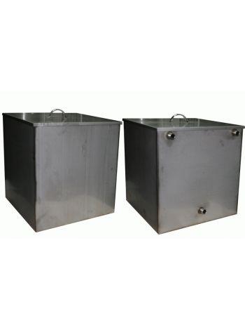 Бак для бани 125 литров накопительный