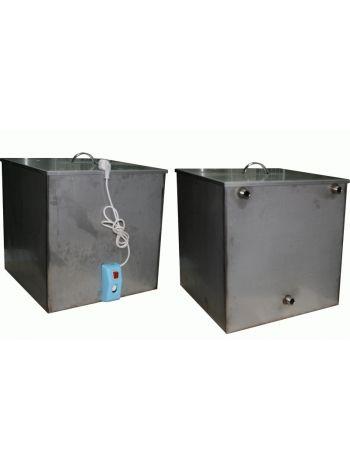 Бак для бани 125 литров с ТЭНом