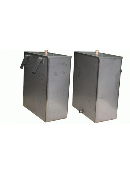 Бак для бани 40 литров навесной