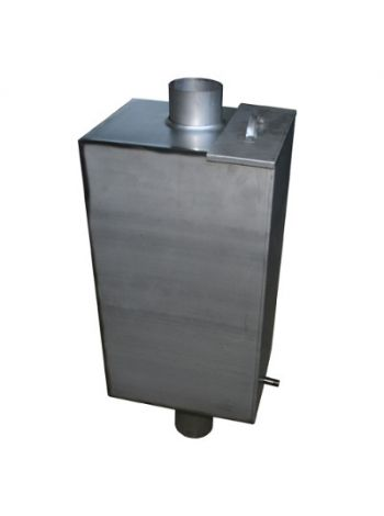 Бак на трубе для бани 80 литров 115 мм диаметр