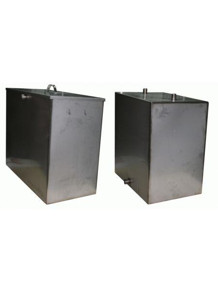 Бак для бани 80 литров под контур