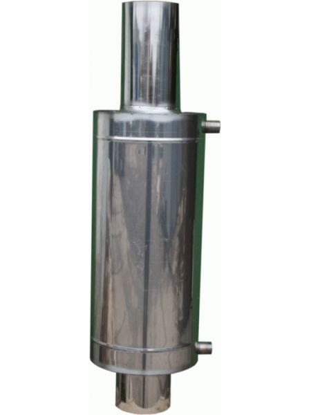 Бак на трубе для бани теплообменник 12 литров 115 мм диаметр
