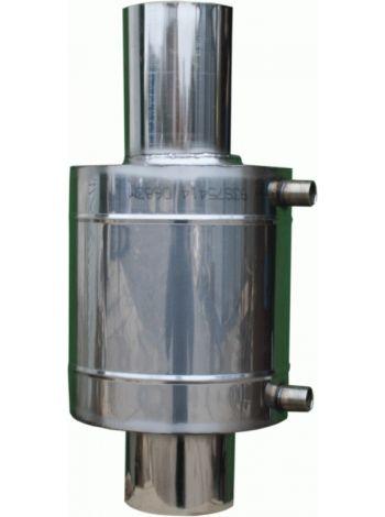 Бак на трубе для бани теплообменник 6 литров 115 мм диаметр