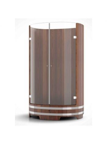 Душевая кабина Bentwood лиственница морёная H=2,05м D=1,25м