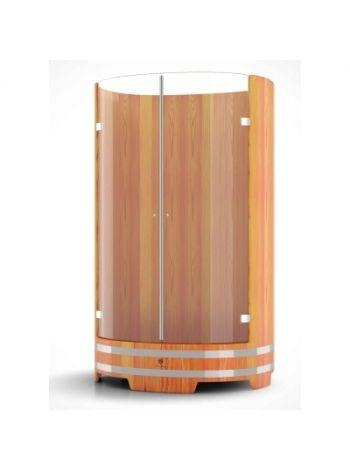 Душевая кабина Bentwood лиственница натуральная H=2,05м D=1,25м