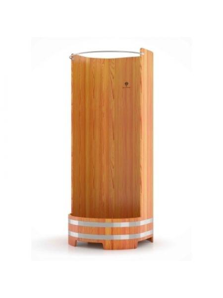 Душевая кабина Bentwood лиственница натуральная H=2,0м D=0,9м