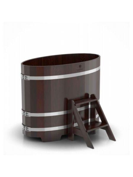 Купель для бани Bentwood дуб морёный 0,69х1,31х1,0