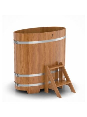 Купель для бани дуб натуральный 0,69х1,31х1,2