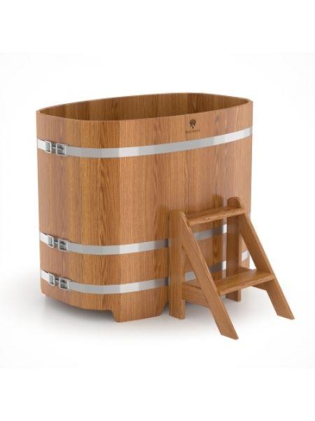 Купель для бани дуб натуральный 0,76х1,16х1,0