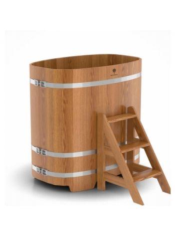 Купель для бани дуб натуральный 0,76х1,16х1,2