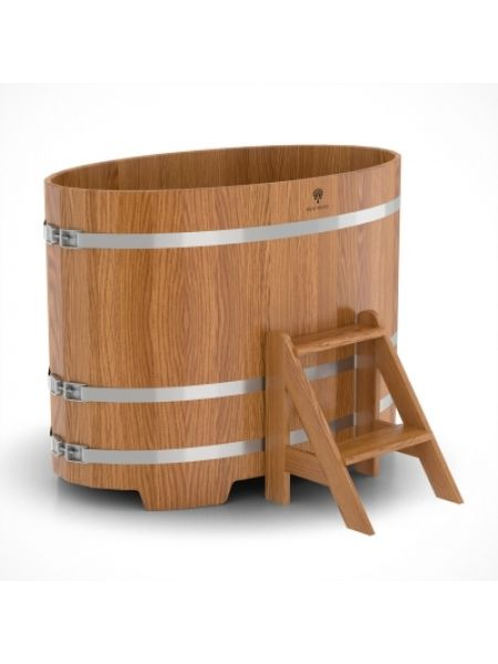 Купель для бани дуб натуральный 0,80х1,42х1,0