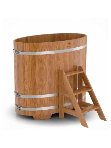Купель для бани дуб натуральный 0,80х1,42х1,2