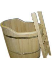 Купель для бани осина одноместная