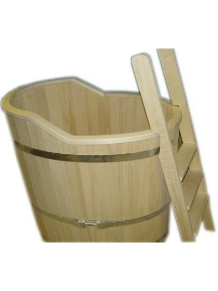 Купель для бани осина одноместная КО-1