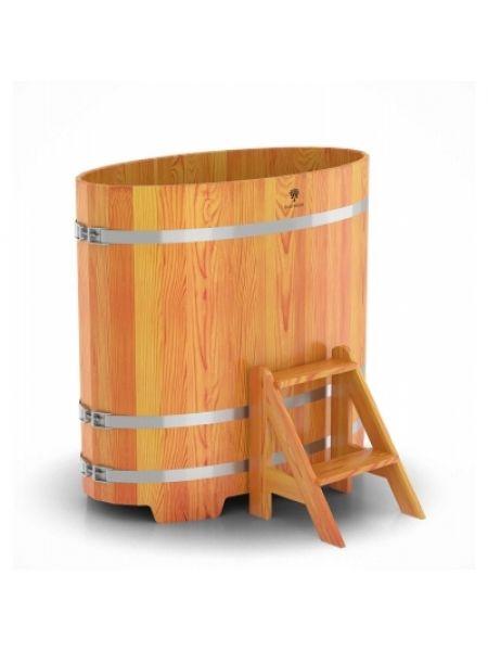 Купель для бани лиственница натуральная 0,69х1,31х1,2
