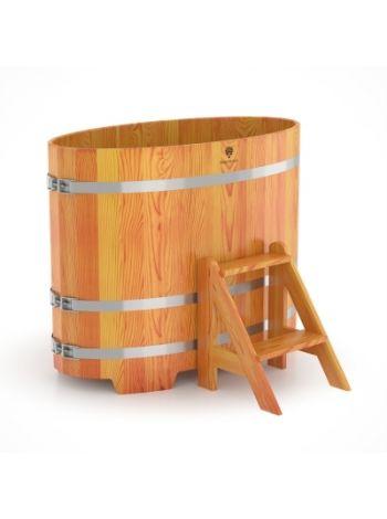 Купель для бани лиственница натуральная 0,69х1,31х1,0