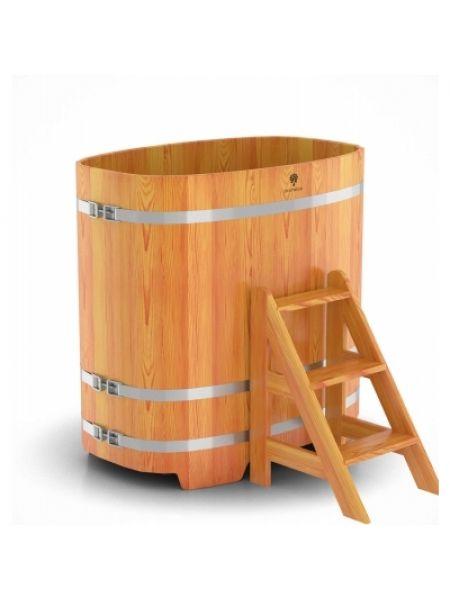 Купель для бани лиственница натуральная 0,76х1,16х1,2