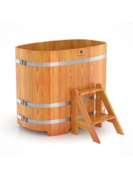 Купель для бани лиственница натуральная 0,76х1,16х1,0