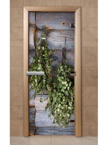 Дверь из стекла с фотопечатью 190*70 F204