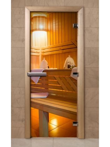 Дверь из стекла с фотопечатью 190*70 F207