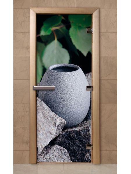 Дверь из стекла с фотопечатью 190*70 F210