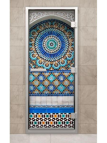 Дверь из стекла с фотопечатью F212