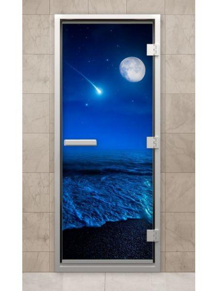 Дверь из стекла с фотопечатью F215