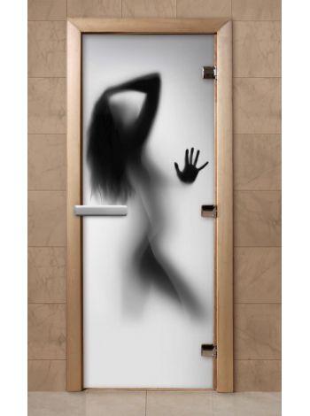 Дверь из стекла с фотопечатью 190*70 F223