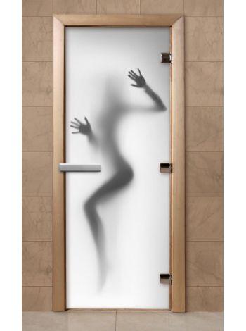 Дверь из стекла с фотопечатью 190*70 F224