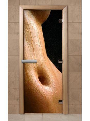 Дверь из стекла с фотопечатью 190*70 F225