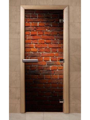 Дверь из стекла с фотопечатью 190*70 F226