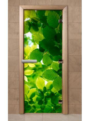 Дверь из стекла с фотопечатью 190*70 F239