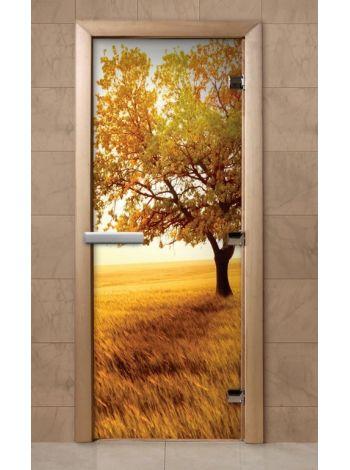 Дверь из стекла с фотопечатью 190*70 F248