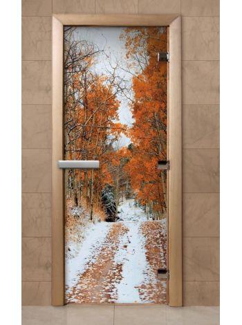 Дверь из стекла с фотопечатью 190*70 F250